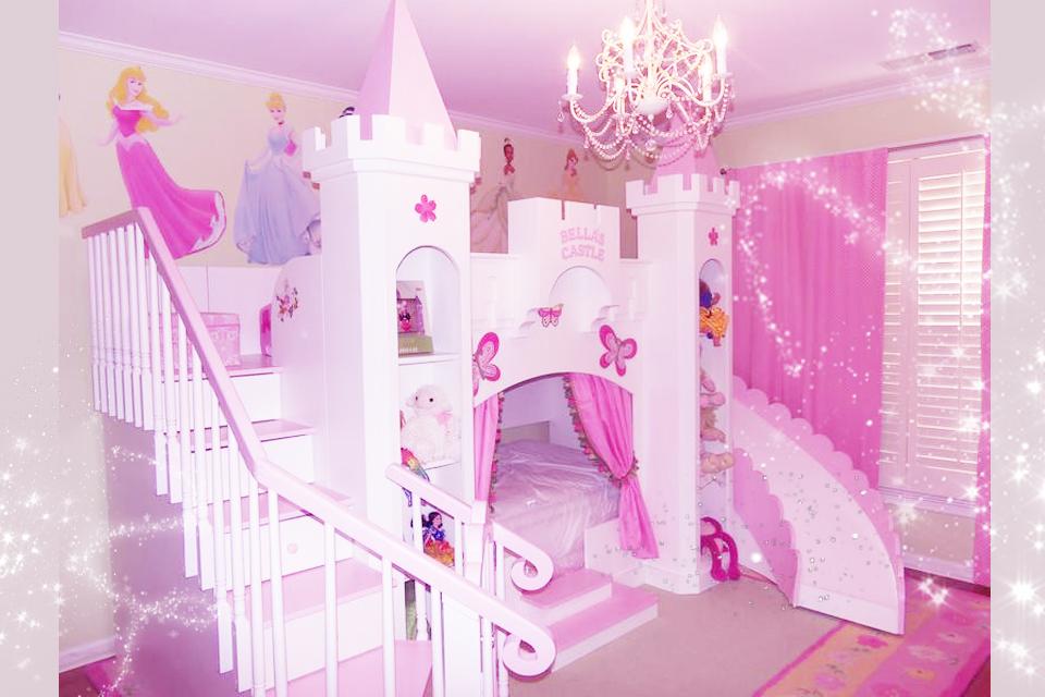お部屋にお姫様のお城を作る方法と買い方♡プリンセスキャッスルベッド