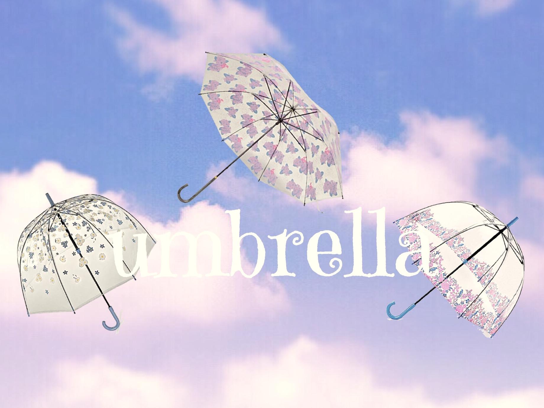 かわいいビニール傘特集!雨の日コーデをもっと可愛くしちゃお!