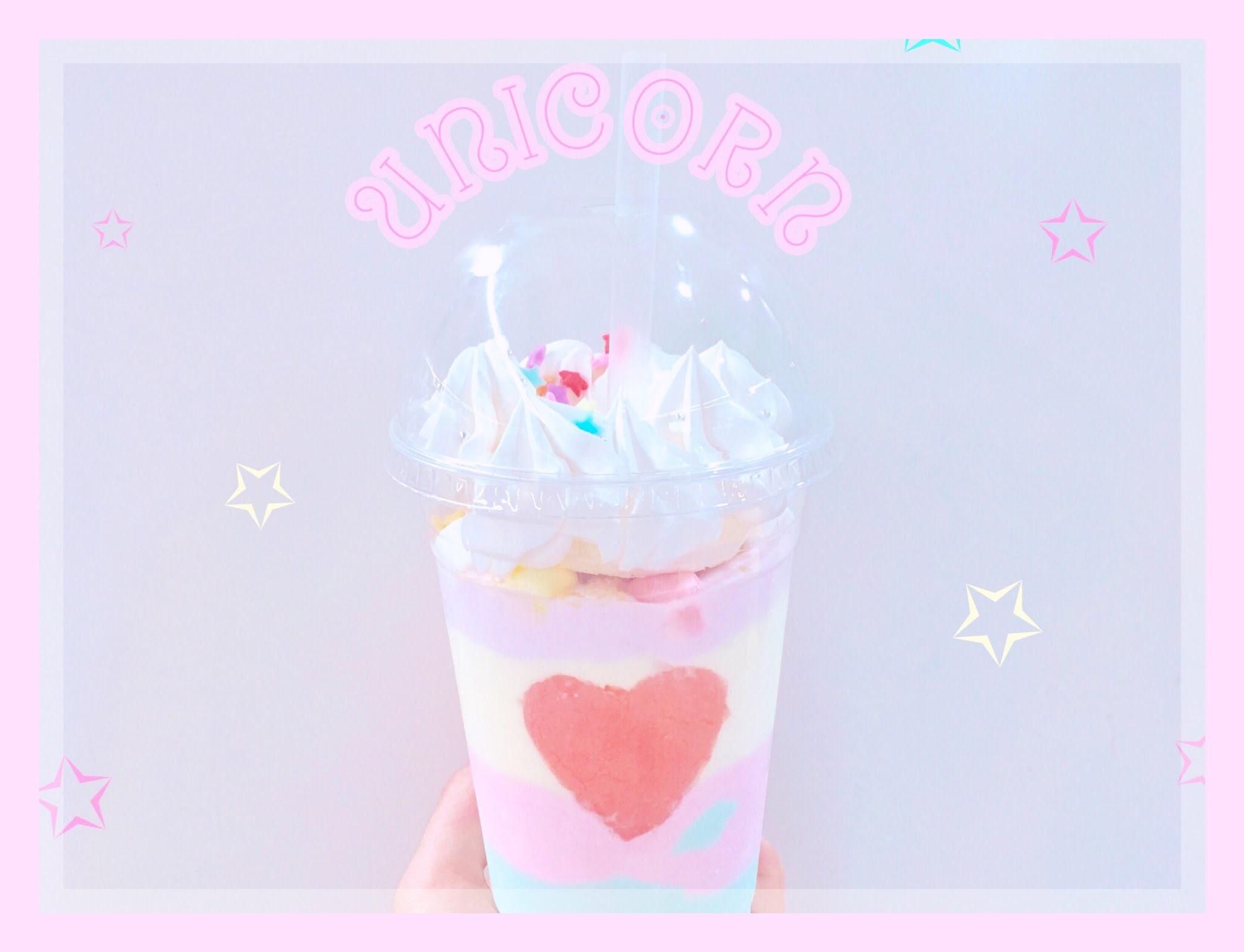 夏限定♡モナークオブロンドンのゆめかわユニコーンスムージー♡