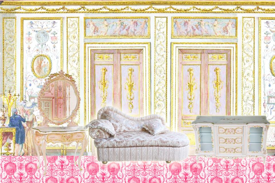 プリンセス部屋にはロココ調家具で決まり♡通販まとめ!