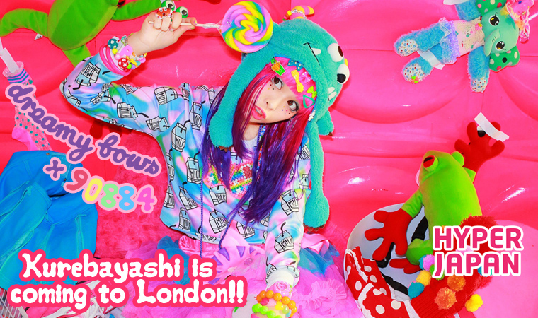 Haruka Kurebayashi x Dreamy Bows Collab♡ Kawaii Event Hyper Japan in London, UK♪