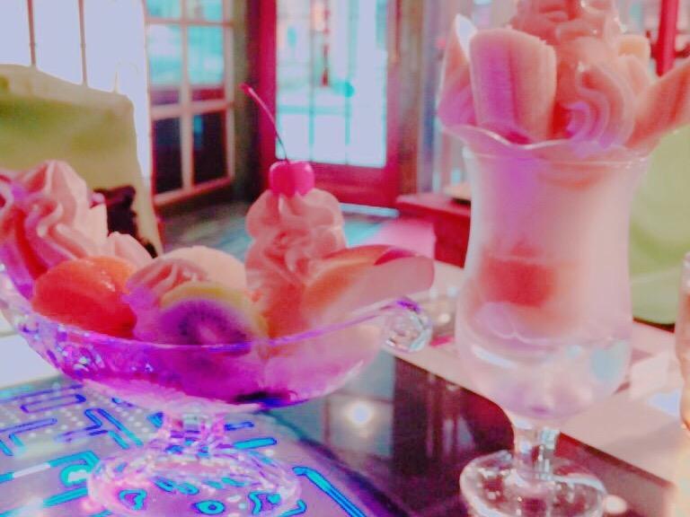 クリームソーダがかわいい♪*レトロなカフェ喫茶店コレクション