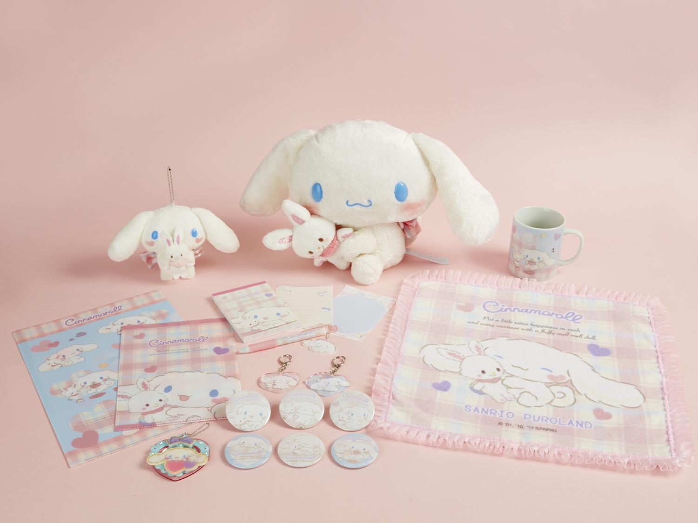 ピューロランド限定グッズ『シナモン×メルメルドール』が可愛すぎる♡So Cute..!♡ New Limited Cinnamoroll x MellmellDoll Collaboration Items