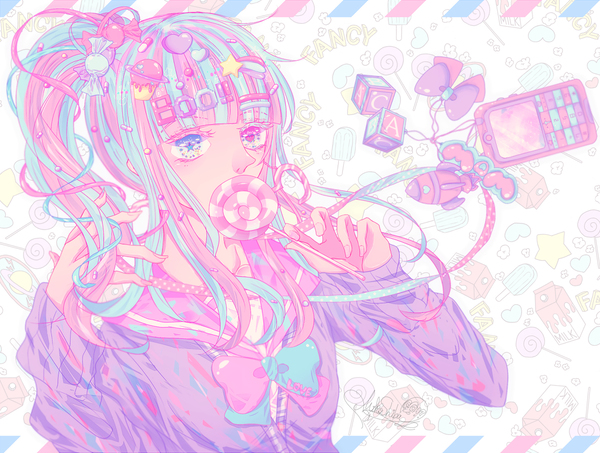 Heart-Racing Colours♡MiKoShiBa's American-Cute Pop Illustrations♡