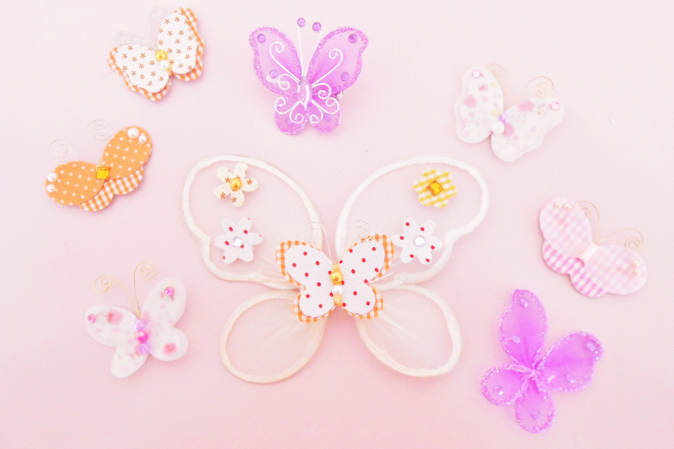 diy how to make butterfly accessory