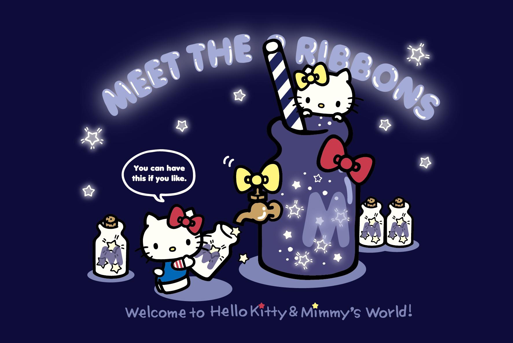 キティとミミィの双子グッズをゲットへ大丸梅田店に向かうべし♡