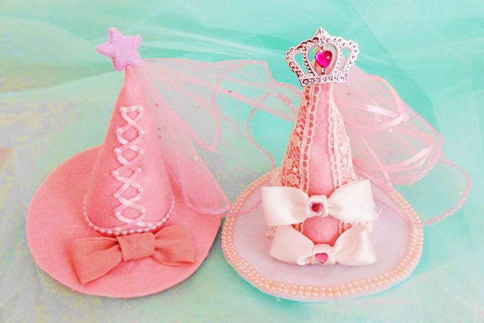 魔女の帽子の作り方