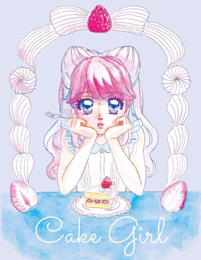 ガーリーで甘い♡*温度を感じるタキノユキの水彩画イラスト