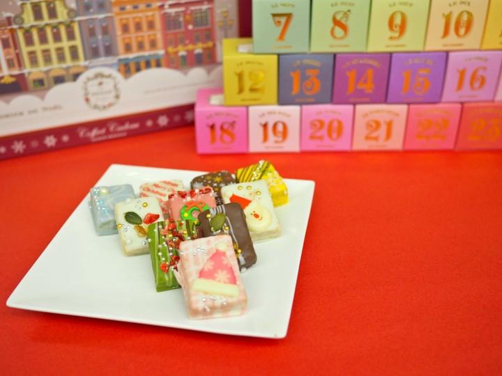 可愛すぎるラスク♡CAFE OHZANが限定商品「クリスマスキューブ」