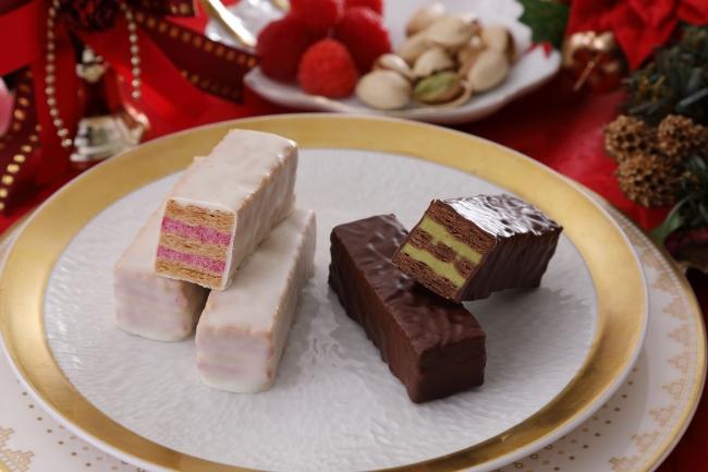 『聖なるミルフィユ』洋菓子店フランセからクリスマスカラーの限定商品♡