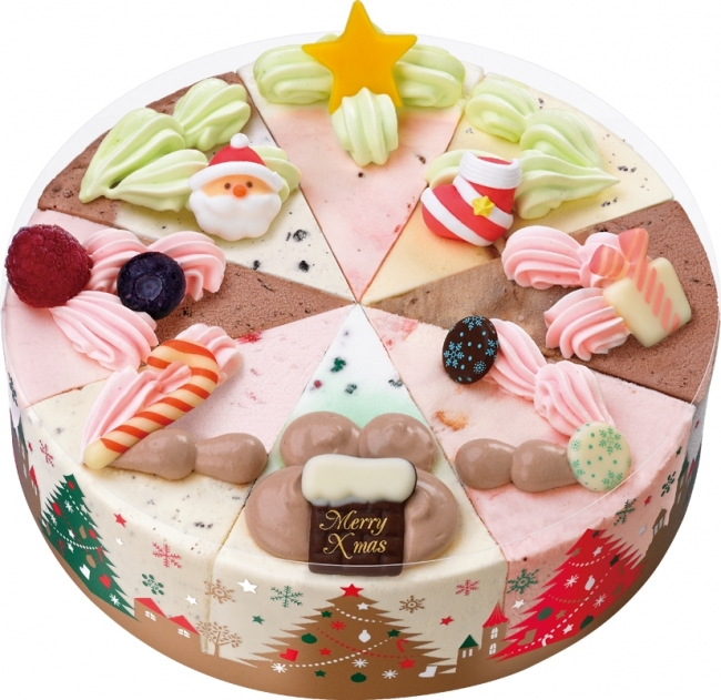 キーワードは「Dream」♡31のクリスマスアイスケーキ♡
