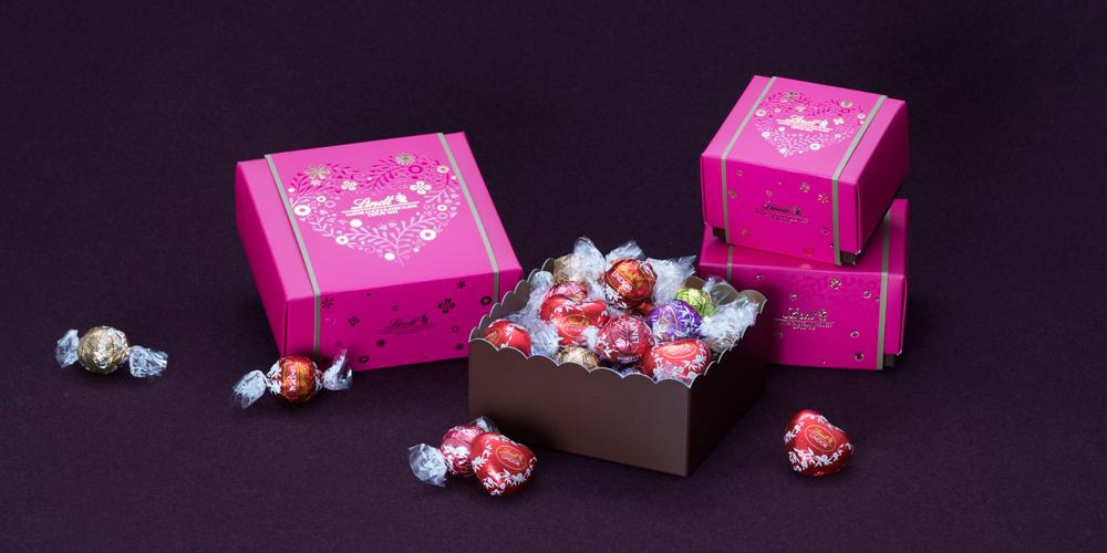 ハートやリボンで可愛い♡リンツのバレンタインチョコレート