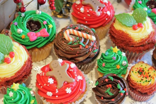 おしゃかわカップケーキブランドにクリスマスケーキが登場♡