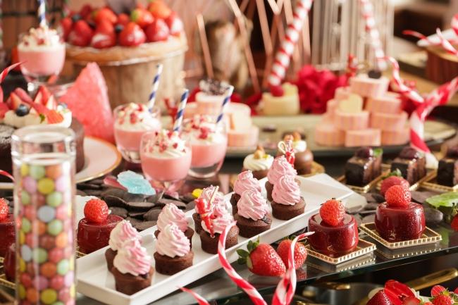 甘くて可愛い苺とチョコのバレンタインビュッフェが名古屋に♡