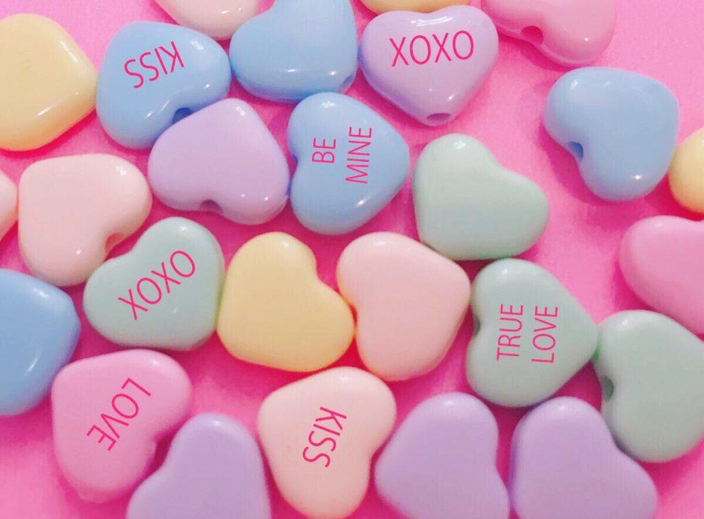ラブキャンディー*ファンシーなお菓子に書いてある恋愛英語まとめ