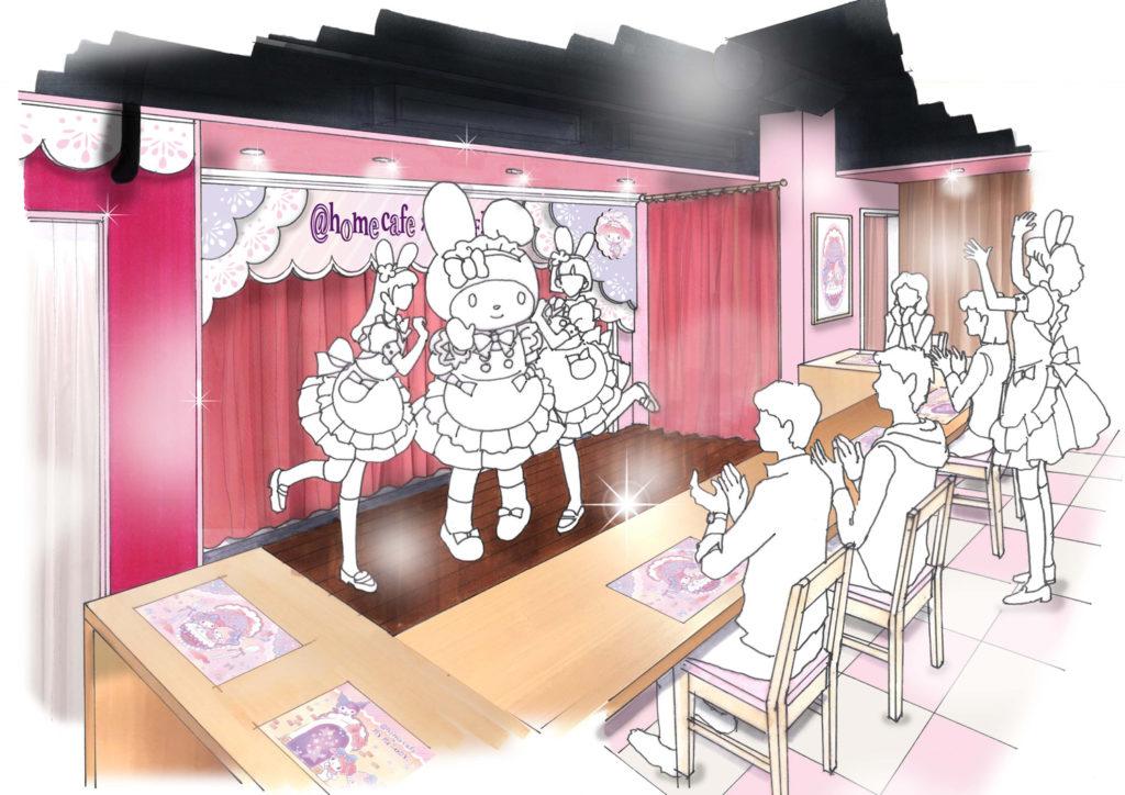 ゆめかわいいメイドカフェ!マイメロとメイドが夢のコラボ