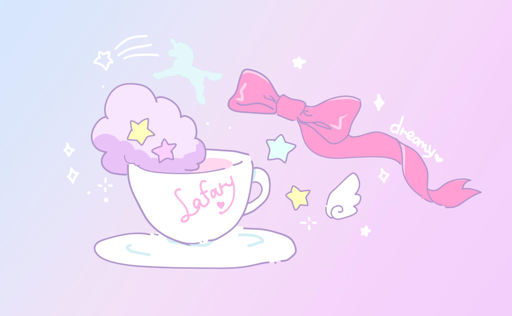 まるで夢の中の世界…ゆめかわいいカフェまとめ