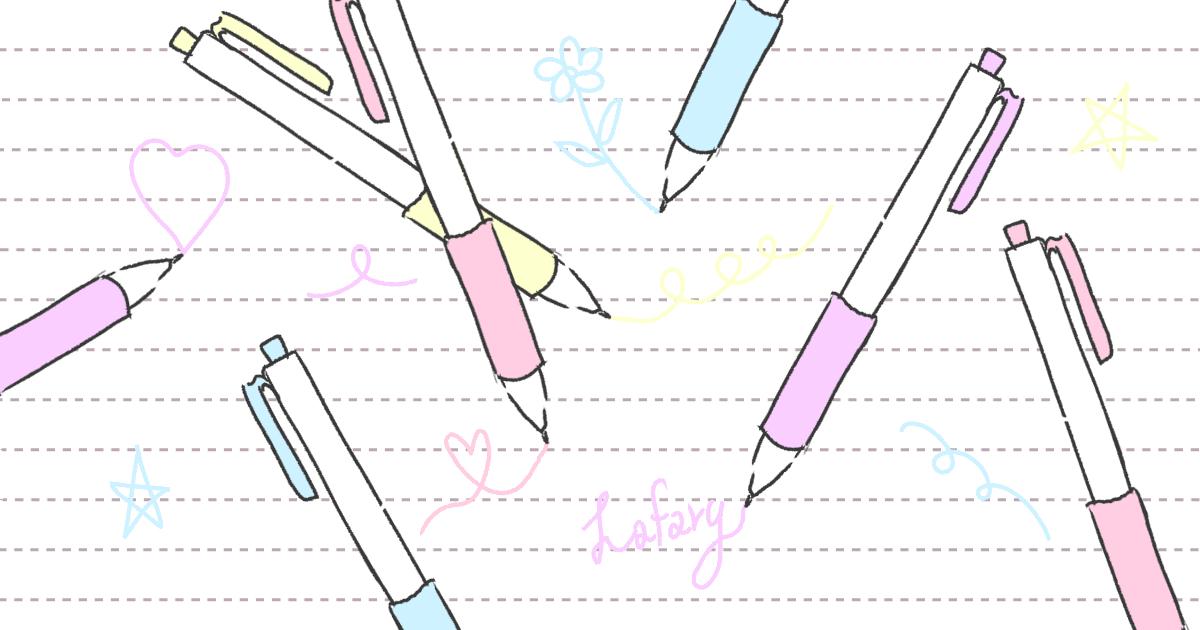 ノートを可愛く!パステルカラーのペンまとめ