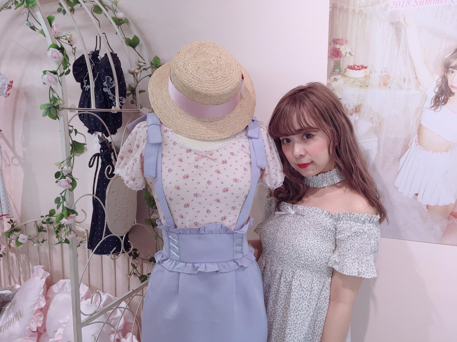 夏の夢見るガーリースタイル*ハニーシナモン夏の新作展示会