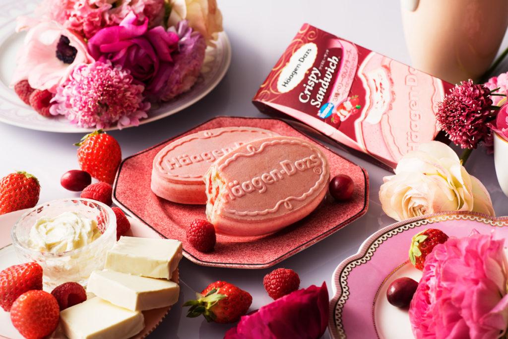 期間限定で発売!春色でかわいい♡ピンクのハーゲンダッツ
