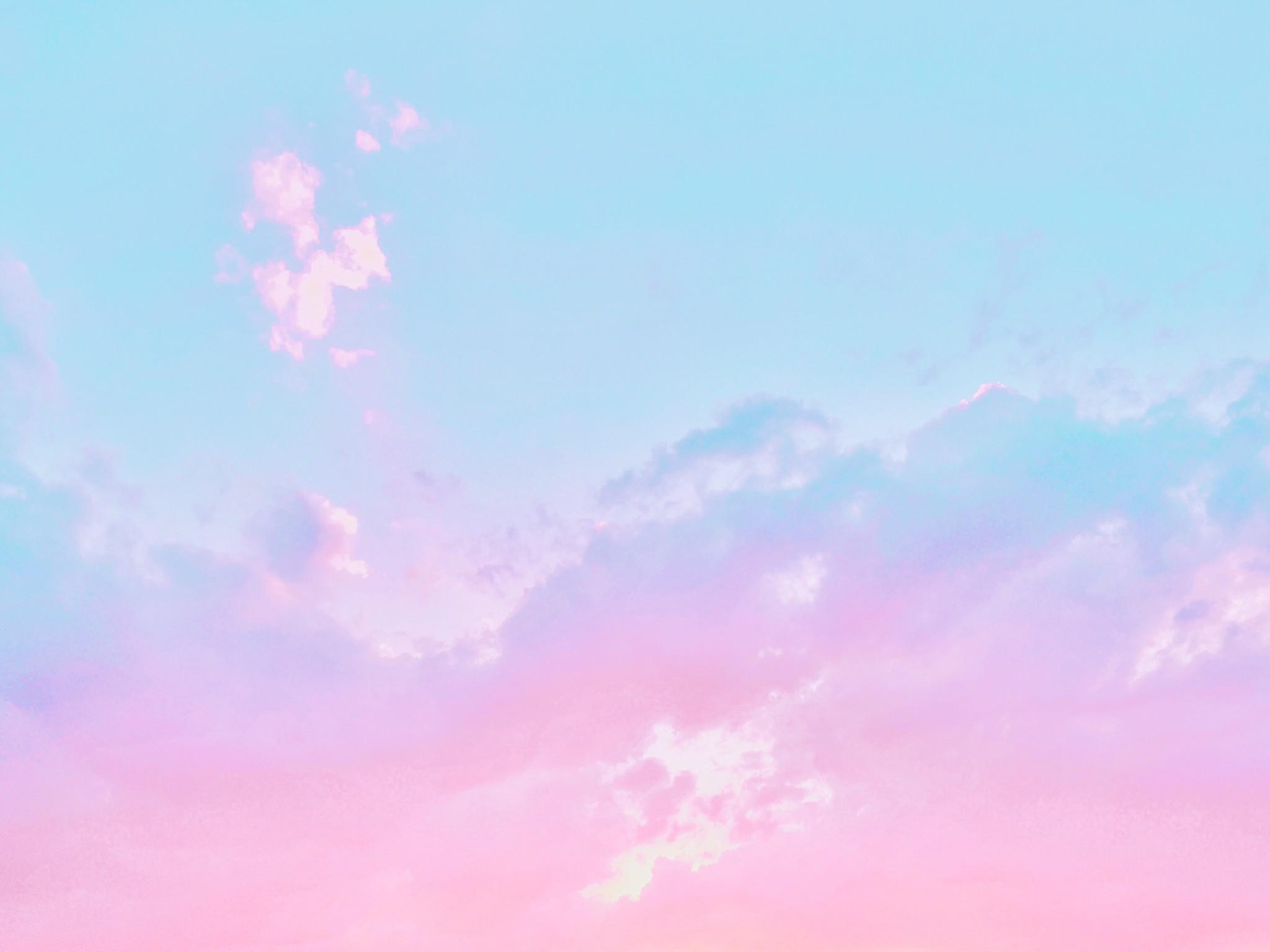 ファンシー メルヘン パステル系フリー背景画像 無料素材 Lafary