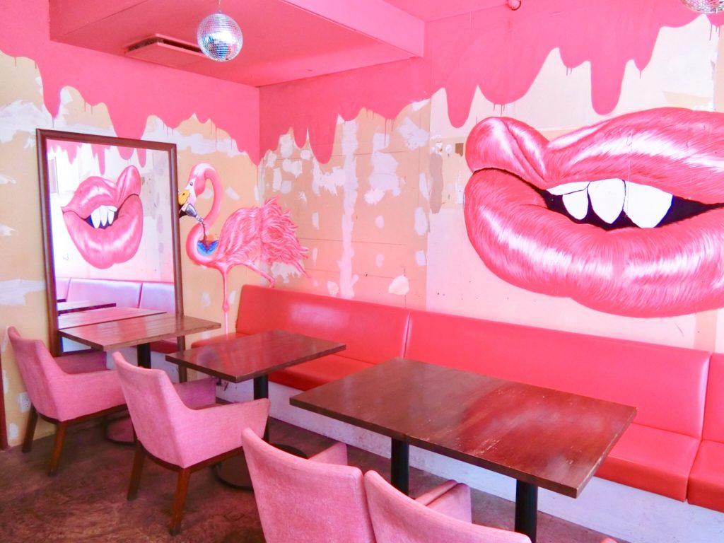 フォトジェニックなピンクの空間  渋谷の可愛いカフェ『FLAMINGO』
