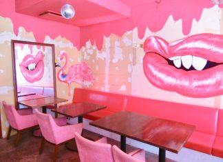 セクシーでキュートでフォトジェニック!渋谷のカフェ『FLAMINGO』