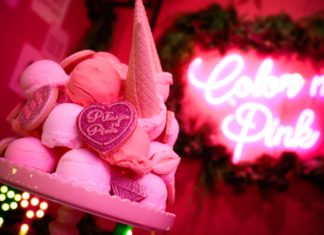 見渡す限りP I N K !!ピンクのピタヤカフェが渋谷に期間限定OPEN