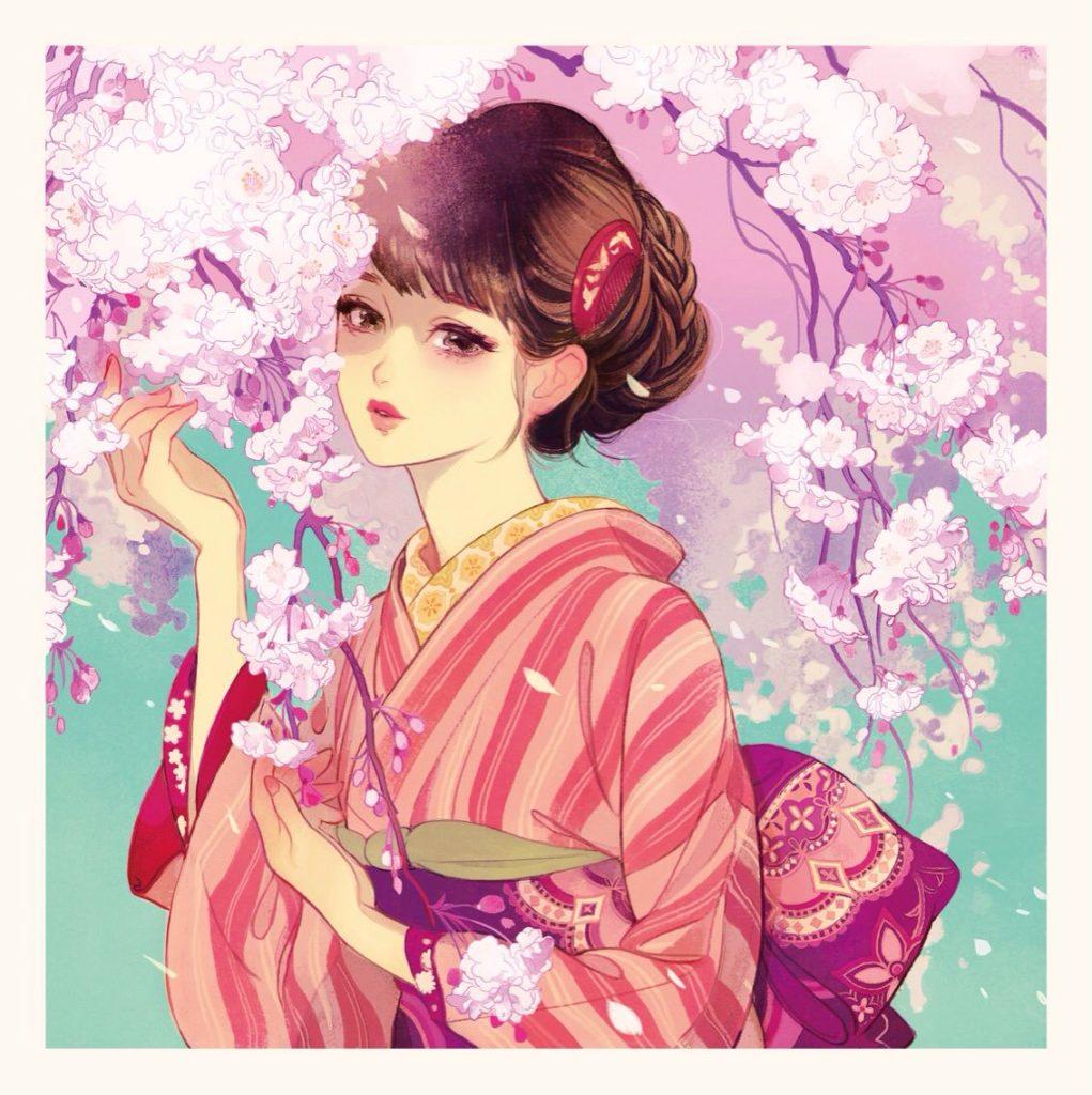 マツオヒロミ 桜