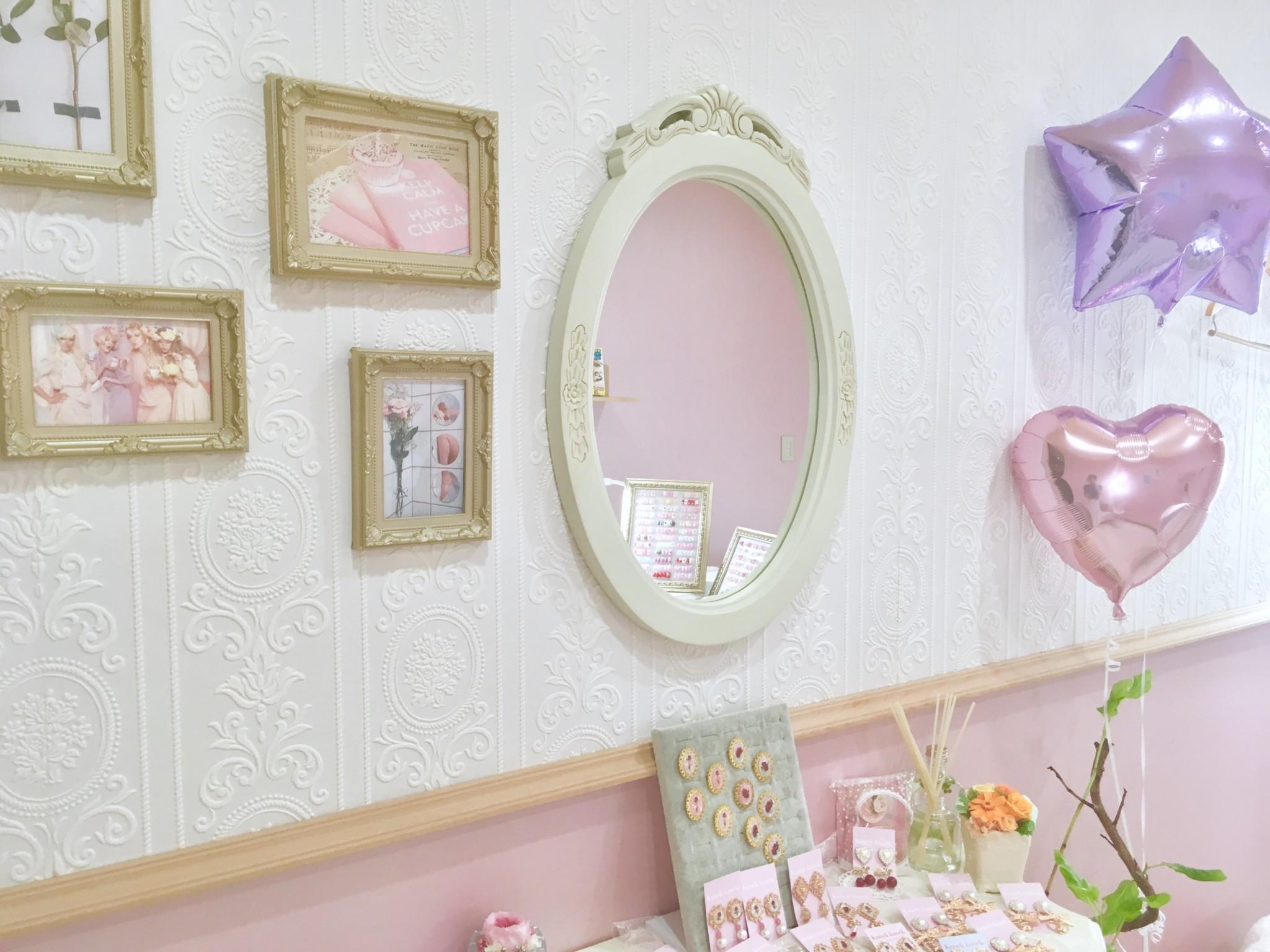 ピンクの可愛い代官山のネイルサロンknockknock4