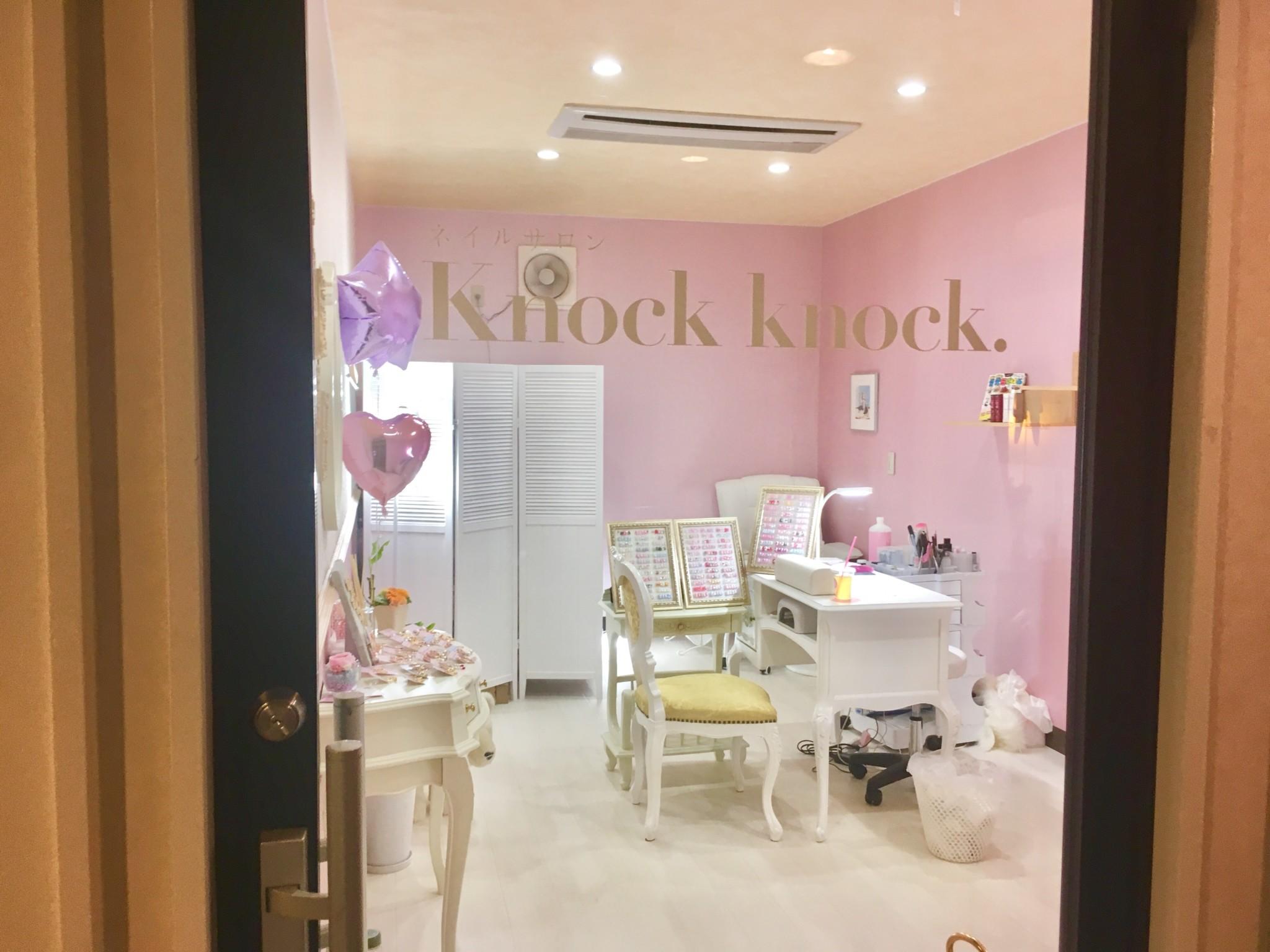 ピンクの可愛い代官山のネイルサロンknockknock3