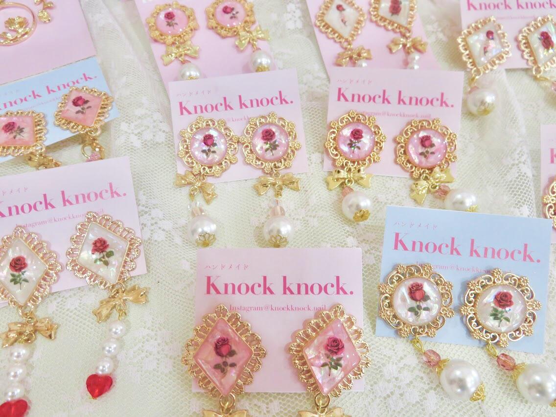 ピンクの可愛い代官山のネイルサロンknockknock10