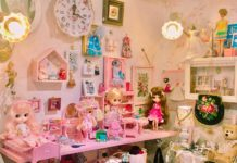 代官山の小さな可愛い雑貨屋さん『Powder Pink』