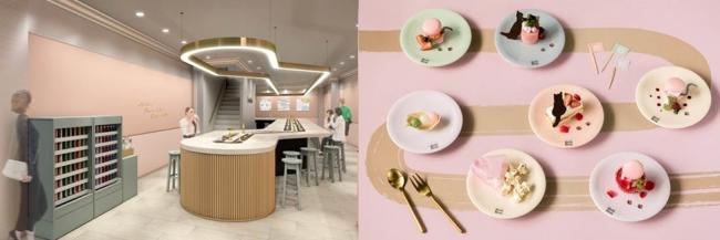 女の子の理想が詰まった回転スイーツカフェ「メゾン エイブル カフェ ロンロン」