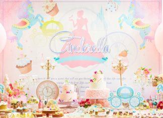 ロマンチックで夢いっぱい♡デザートブッフェ『プリンセス・シンデレラの舞踏会』