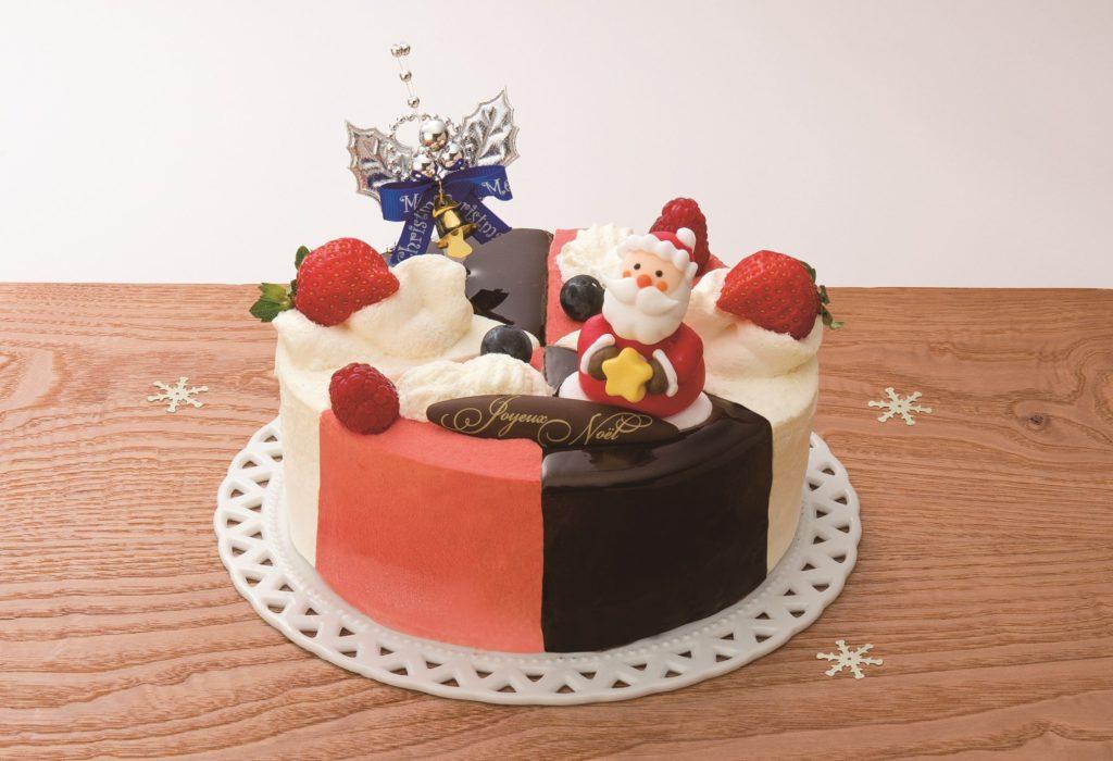おしゃれで可愛いクリスマスケーキの画像8