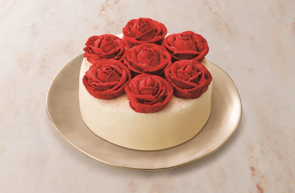 おしゃれで可愛いクリスマスケーキの画像1