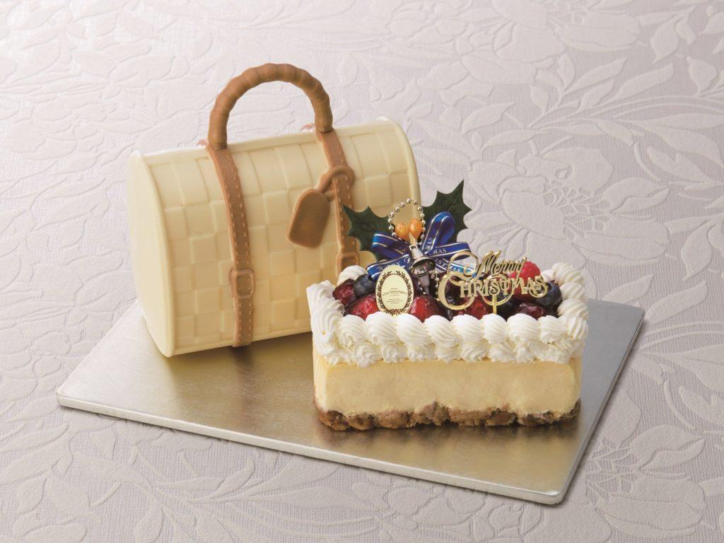 おしゃれで可愛いクリスマスケーキの画像2