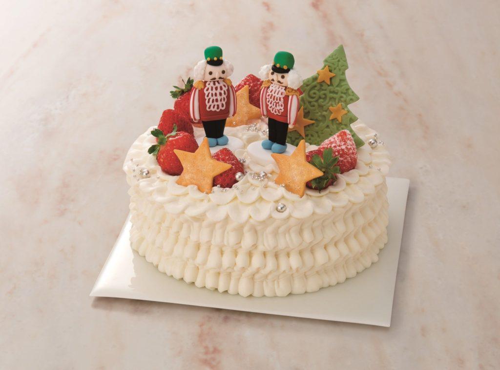 おしゃれで可愛いクリスマスケーキの画像3