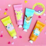 大人気ポケモンコスメシリーズ第3弾♡女性に優しい「ポケモンハンドクリーム」が登場!