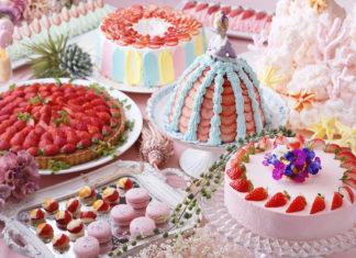 気分は海のお姫様♡琵琶湖ホテル「アクアリウム」がテーマのストロベリービュッフェに注目!