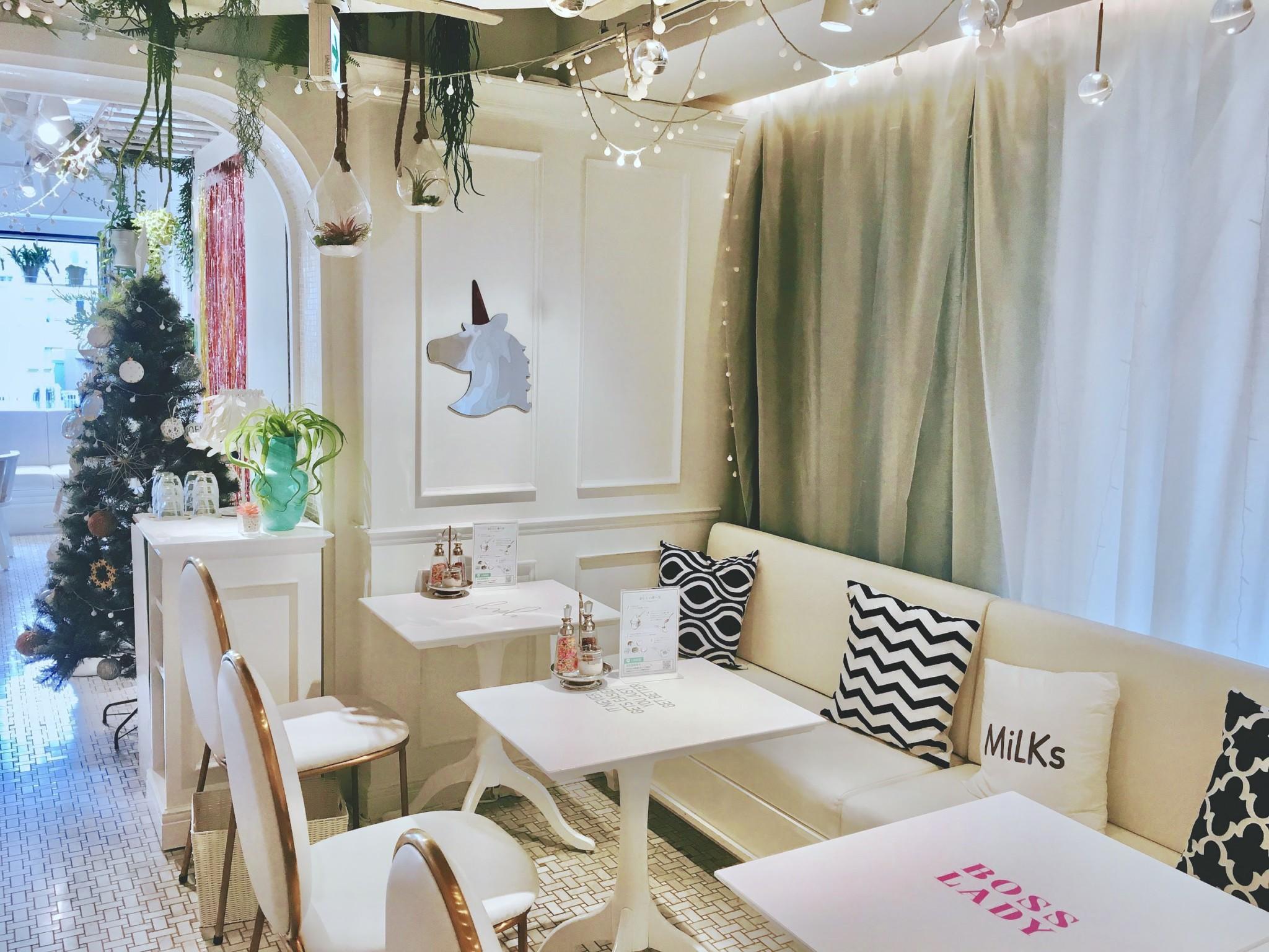 「ソフトクリーム+お酒」恵比寿のカフェ『MiLKs(ミルクス)』の画像4