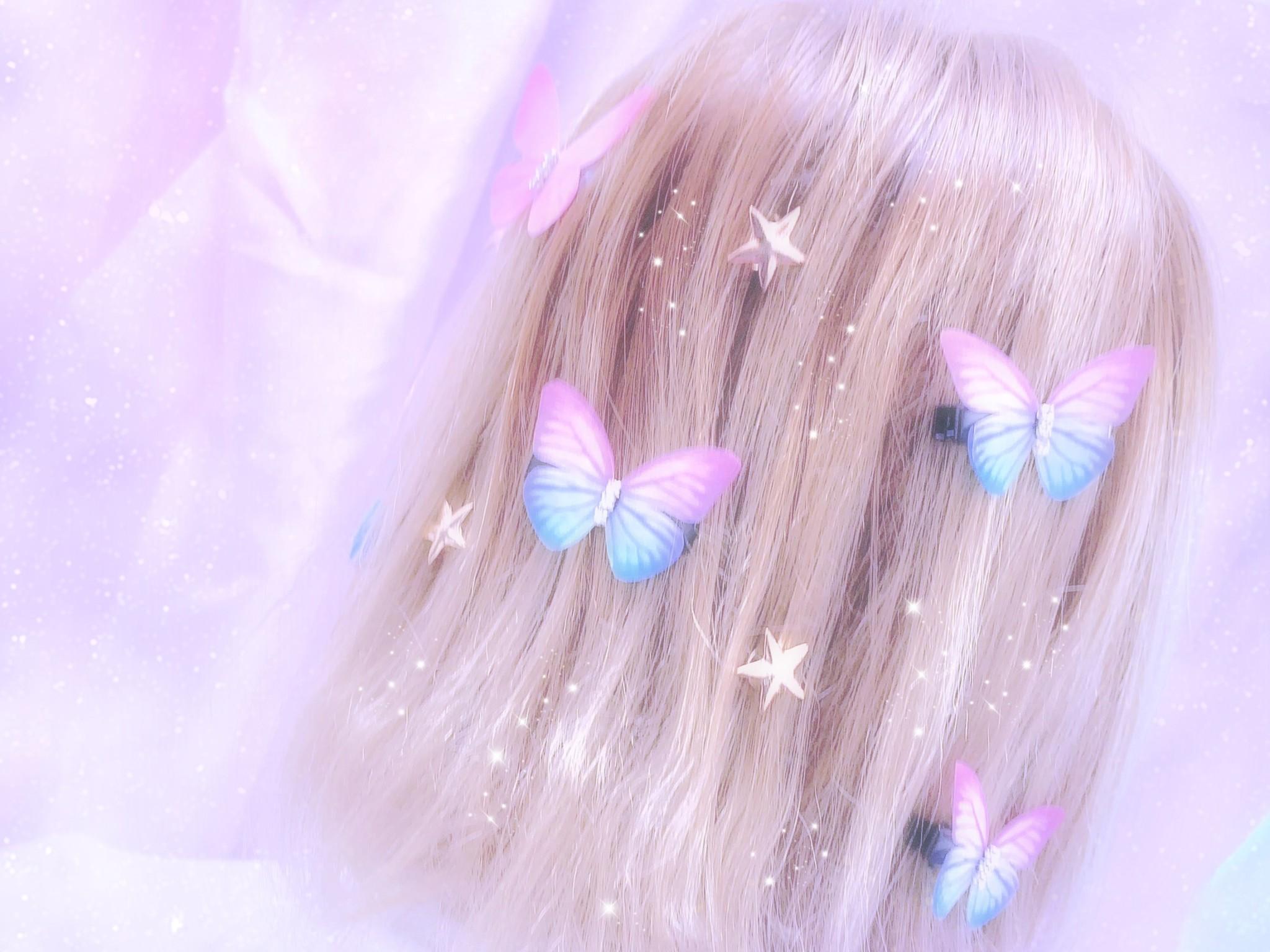ゆめかわいい髪型(ゆめかわヘア)の画像