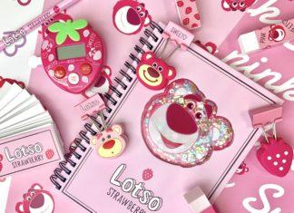ピンク×いちご=最強✧˖°ディズニーストア「ロッツォ」グッズに一目惚れ