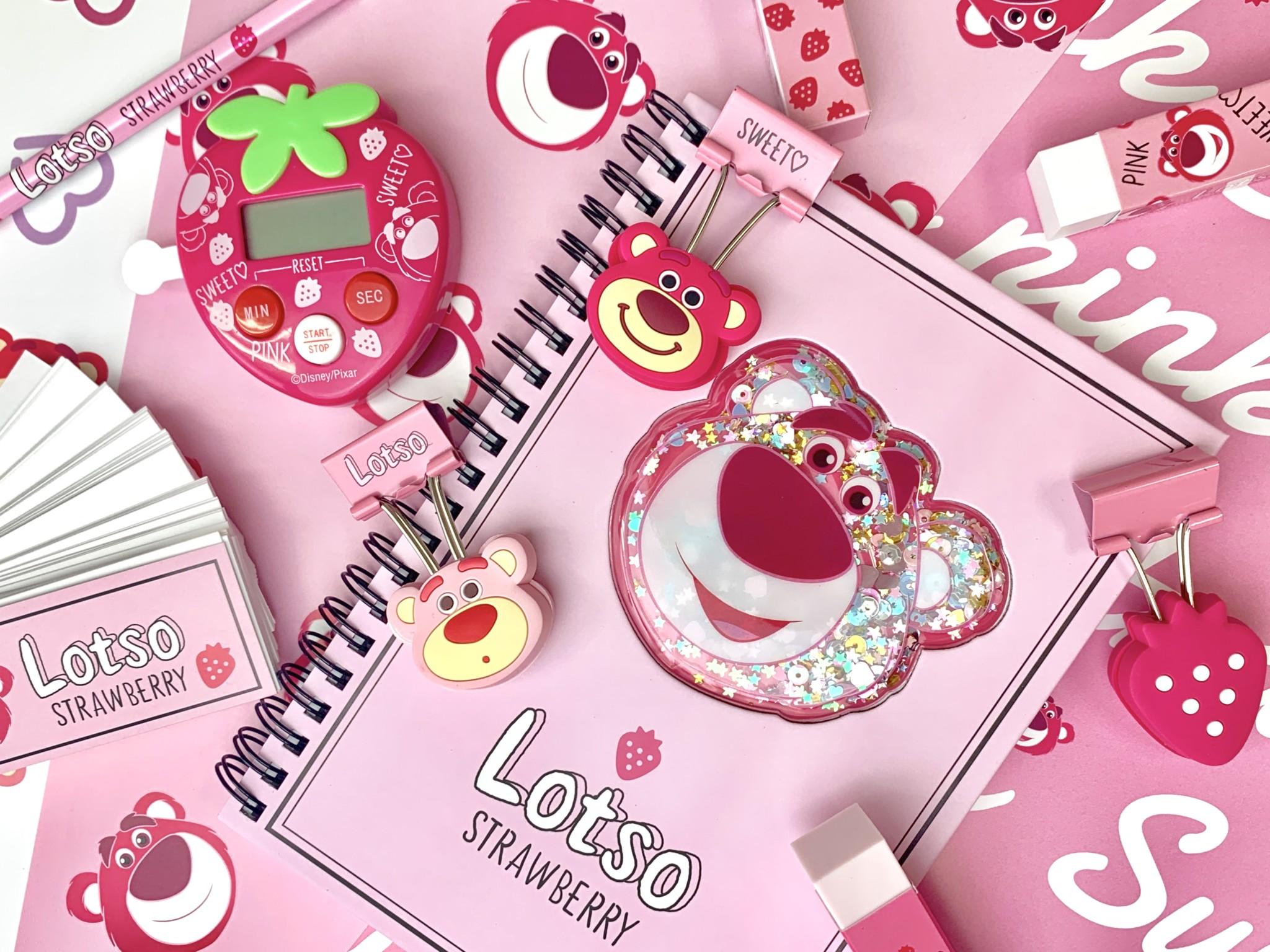 ディズニーストア「ロッツォ」Pink Stationery グッズが可愛すぎる1