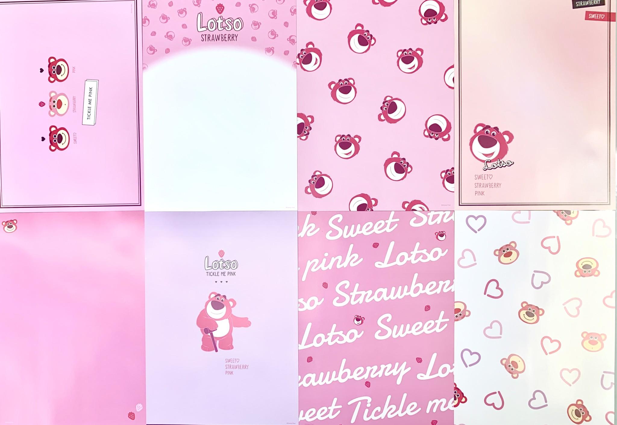 ディズニーストア「ロッツォ」Pink Stationery グッズが可愛すぎる6