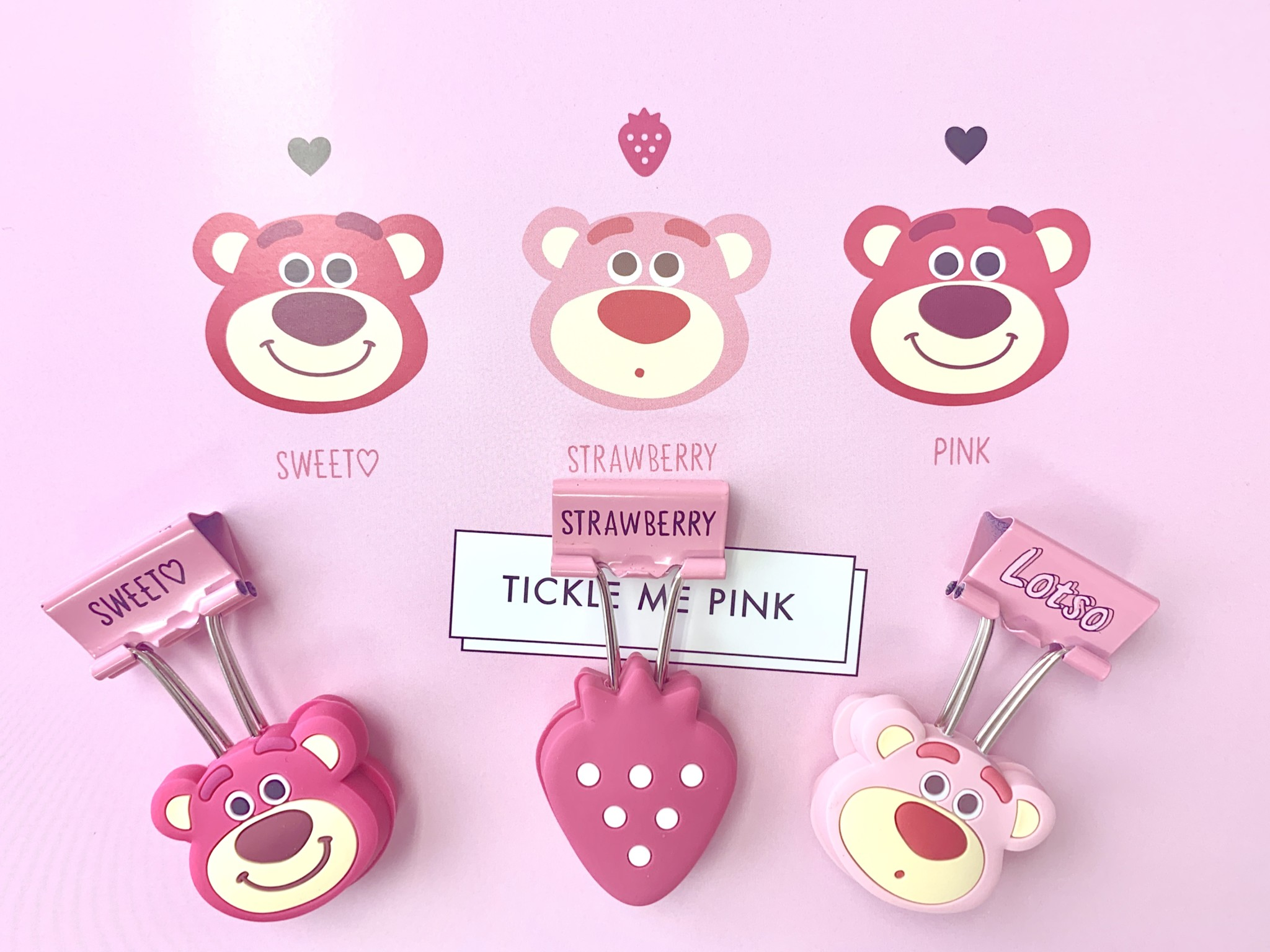 ディズニーストア「ロッツォ」Pink Stationery グッズが可愛すぎる3
