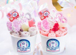 【期間限定】ロールアイスクリームファクトリーからゆめかわアイスが新発売