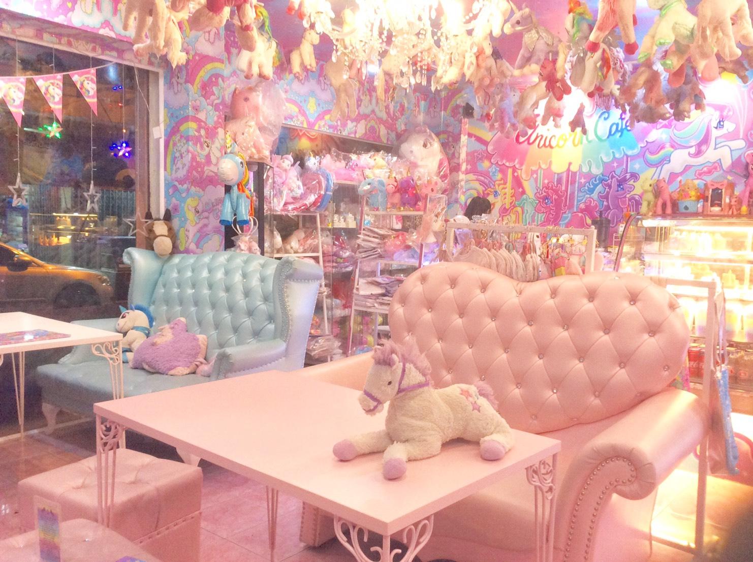 タイ・バンコクのユニコーンカフェがゆめかわいい♡