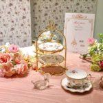 プリンセスなお茶会を。可愛いすぎる紅茶専門店♡